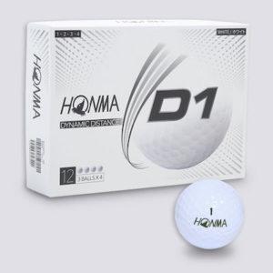 HONMA D1 ゴルフボール(2020モデル)